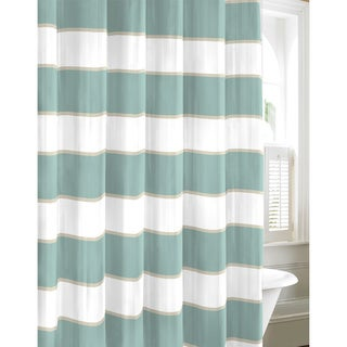 Nautica Guardhouse Stripe Mist Shower Curtain