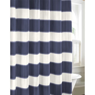 Nautica Guardhouse Stripe Cadet Shower Curtain