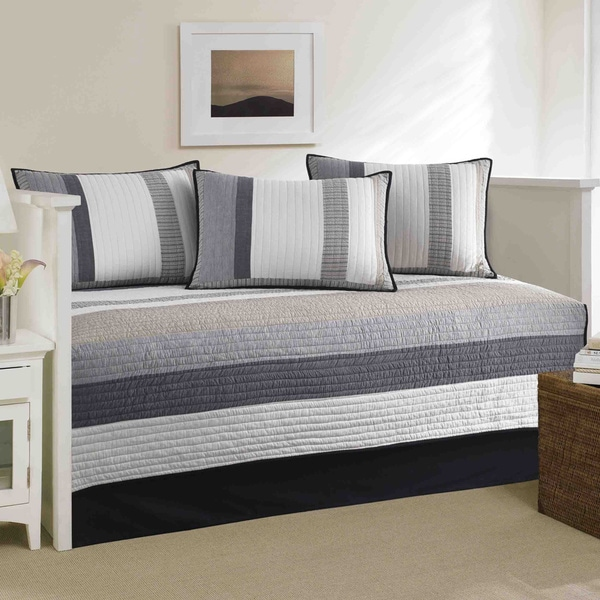 Nautica Tideway 5 Piece Quilted Daybed Cover Set