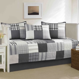Nautica Tideway 5-piece Quilted Blue/ Grey Daybed Cover Set