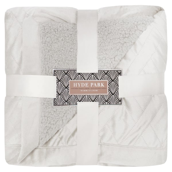 Hyde Park Stiched Saddle Throw