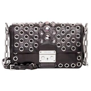 Miu Miu Nappa Leather Embellished Bag