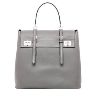 Prada Lux Calf Leather Tote Bag