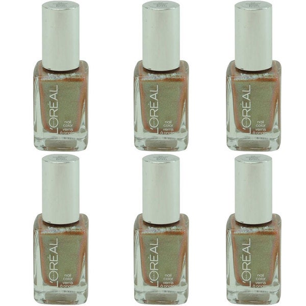 L'Oreal Project Runway Nail The Temptress Power 696 Nail Polish (Pack of 6)