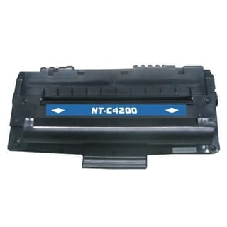 INSTEN Premium Black Toner Cartridge for OKI B4100/ B4200/ B4250/ B4300/ B4350/ 42103001