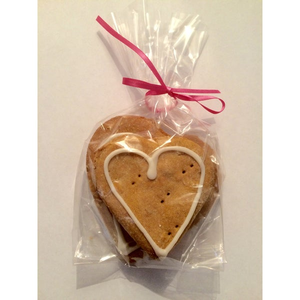 Fat Murray's Peanut Butter 'Love Hearts' Dog Treats (2 Pack)