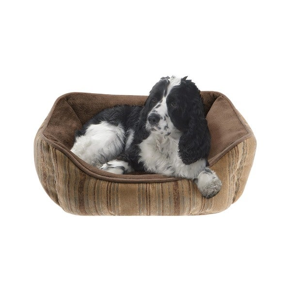 Soft Touch Brutus Reversible Rectangular Cuddler Pet Bed