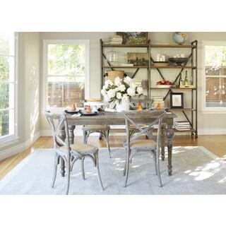 angelo:HOME Hillgate 5 Piece Dining Set in Antique Burnt Oak