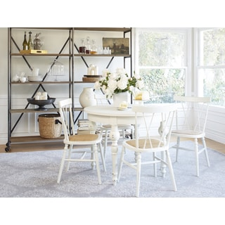 angelo:HOME Hillgate 5 Piece Dining Set in Antique White