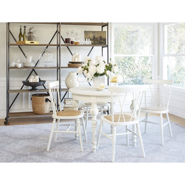 Angelo HOME Hillgate 5 Piece Dining Set In Antique White Overstock Shopping