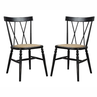 angelo:HOME Citybrook Antique Black Dining Chairs (Set of 2)