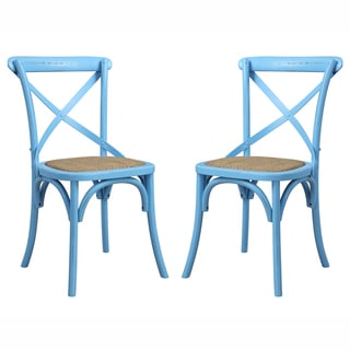 angelo:HOME Cadwell Antique Blue Dining Chairs (Set of 2)