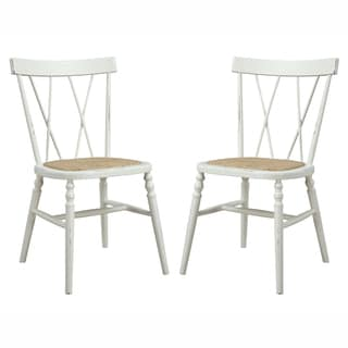 angelo:HOME Citybrook Antique White Dining Chairs (Set of 2)