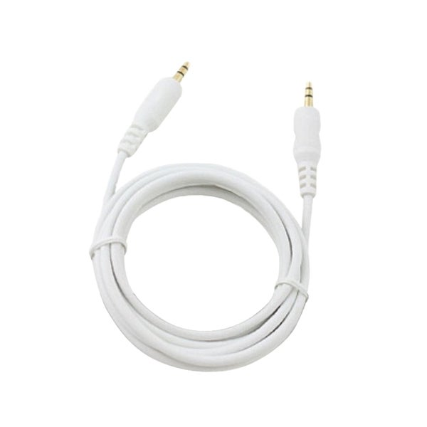 INSTEN 3-feet White 3.5mm to 3.5mm AUX Sound Signal Transfer Cable