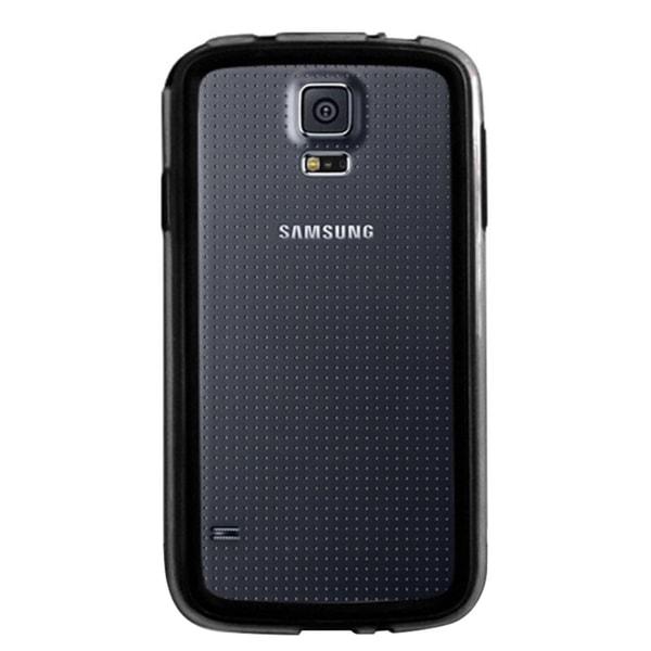 Insten TPU Rubber Candy Skin Transparent Bumper Phone Case Cover For Samsung Galaxy S5 SM-G900