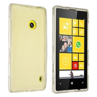 Insten Clear Hard Plastic Slim Snap-on Phone Case Cover For Nokia Lumia 521