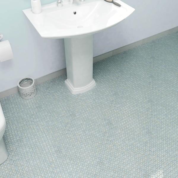 Somertile x jewel marine porcelain for 10 inch floor tiles