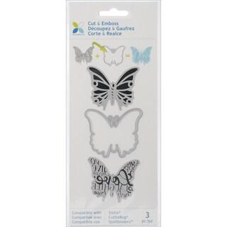 Momenta Cut & Emboss Die-Butterfly