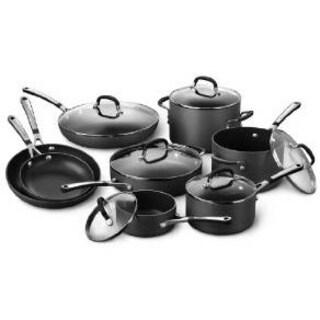 Simply Calphalon Non-stick 14-piece Cookware Set