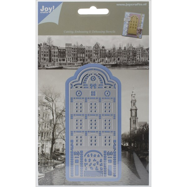 "Lin & Lene Cut & Emboss Die-Rounded Cottage, 2""X4.75"""