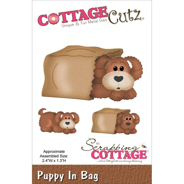CottageCutz Die-In The Woods Puppy In Bag