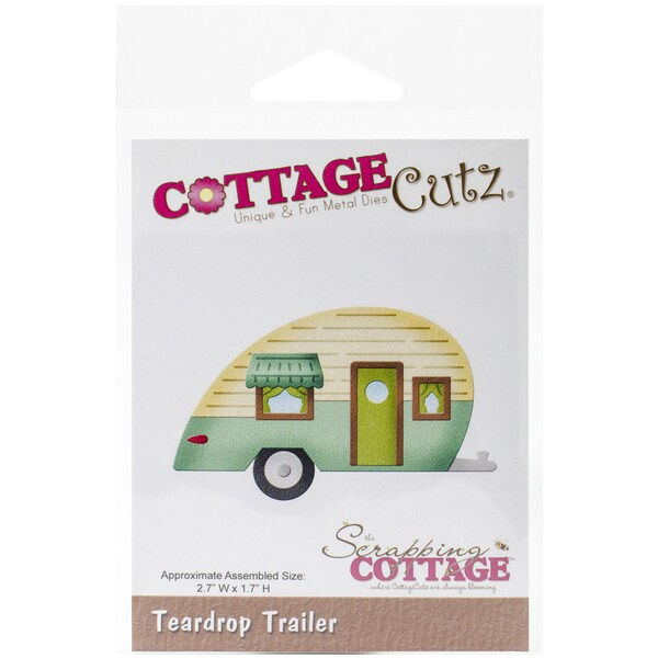 CottageCutz Die-In The Woods Teardrop Trailer