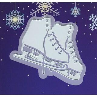 """Joy! Crafts Cut & Emboss Die-Ice Skating, 2.875""""X2.5"""""""