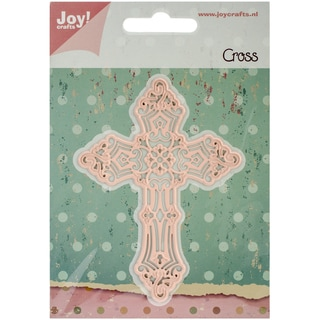 "Joy! Crafts Cut & Emboss Die-Cross, 3""X4"""