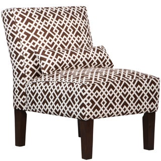 Made to Order Geometric Upholstered Armless Chair