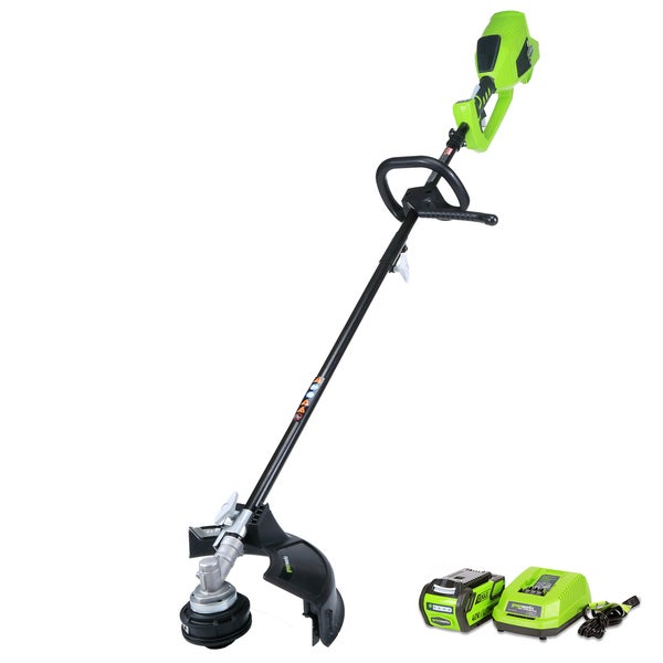 GreenWorks G-MAX 40V Digipro 14-inch Cordless String Trimmer with 4Ah Battery and Charger
