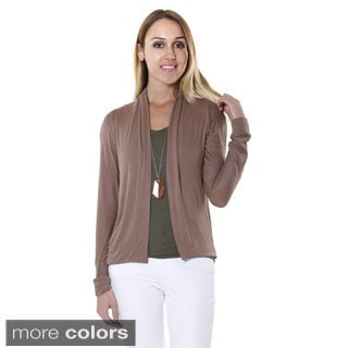 Hadari Women's Relaxed Fit Open Cardigan