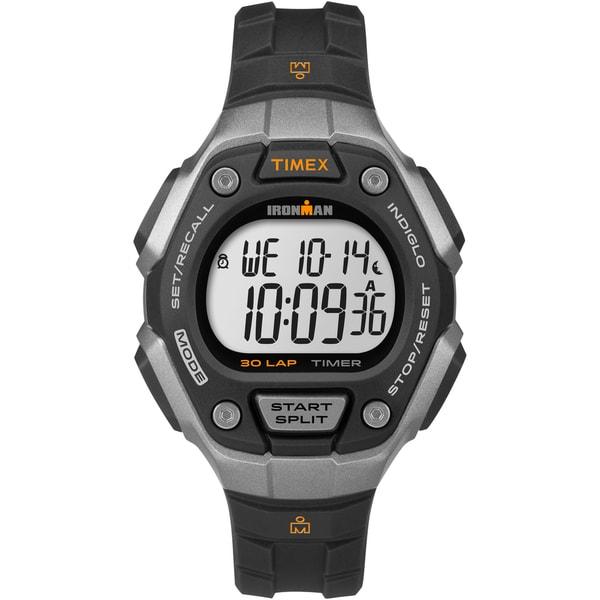 Timex Women's Ironman Classic 30 Black/ Silvertone Watch