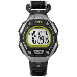 Timex TW5K898009J Women's Ironman Classic 30 Black/ Lime Watch
