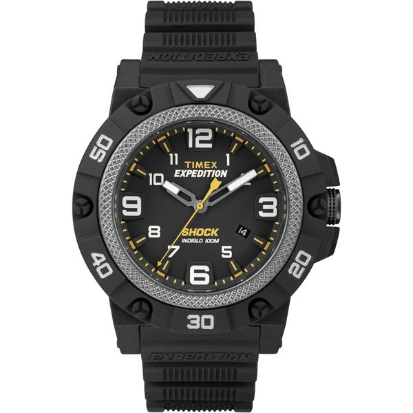 Timex Men's TW4B01000 Expedition Field Shock Black Watch