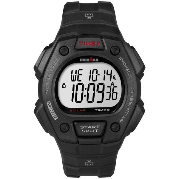 Timex Men's T5K822 Ironman Classic 30 Black Watch