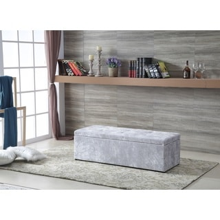 Royal Comfort Dimond Modern Storage Ottoman