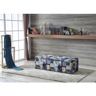Royal Comfort Casual Style Storage Ottoman