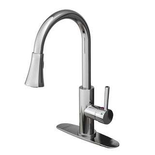 Fontaine Avanzato Chrome 1-Handle Kitchen Faucet