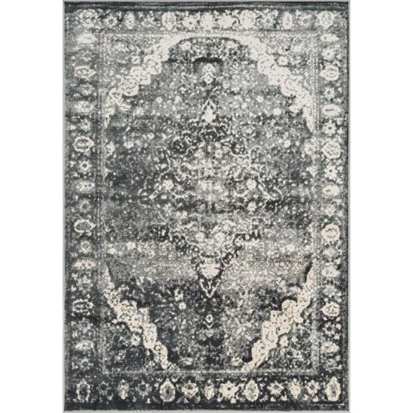 Kingsley Grey Oriental Rug (2'3 x 3'9)