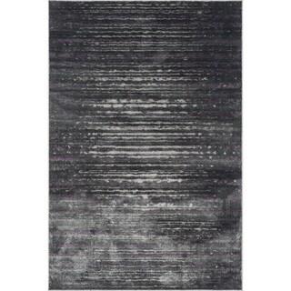Kingsley Pewter/ Purple Rug (2'3 x 3'9)