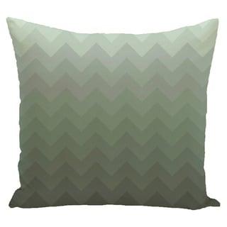 Chevron Stripes 16-inch Square Decorative Pillow