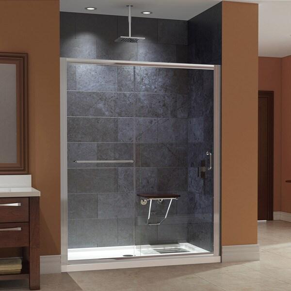 Dreamline Infinity Z 56 To 60 In W Shower Door Clear
