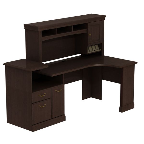 Syndicate Expandable Corner Workstation with Hutch
