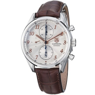 Tag Heuer Men's CAS2112.FC6291 Carrera Silver Watch
