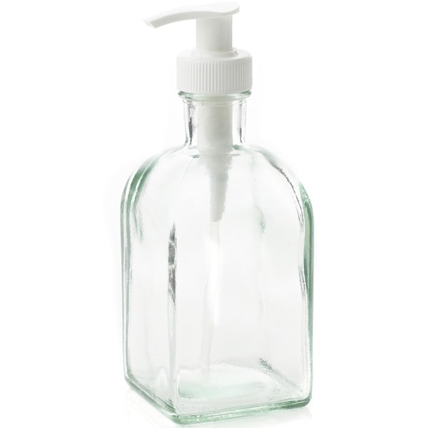 Natural Home Recycled Glass Soap and Lotion Dispenser