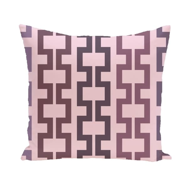 Geometric Tribal 26-inch Square Decorative Pillow 14784938