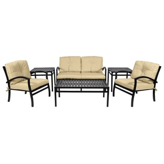 Newport Commercial Grade 6-piece Deep Seating Set