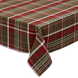 "Design Imports Forest Ridge Plaid Tablecloth (60"" x 84"")"
