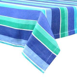 "Design Imports Deep Sea Stripe Tablecloth (60"" x 84"")"
