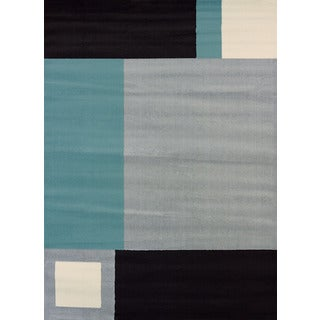 Erin Grey Polypropylene Area Rug (7'10 x 10'6)